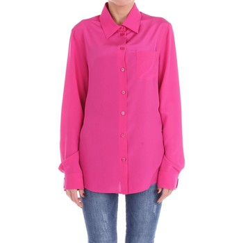 textil Mujer camisas Moschino Couture 02205437 Camisa Mujer fucsia fucsia