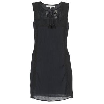 textil Mujer vestidos cortos Banana Moon ELEANOR MAKENNA Negro