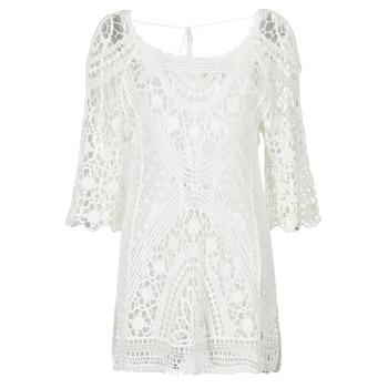 textil Mujer vestidos cortos Banana Moon MAGBY DREAMLAND Blanco