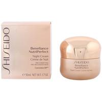 Belleza Mujer Hidratantes & nutritivos Shiseido Benefiance Nutriperfect Night Cream  50 ml