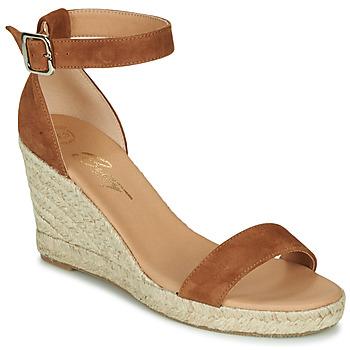 Zapatos Mujer Sandalias Betty London INDALI Marrón
