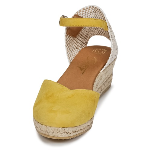 Zapatos Mujer London Sandalias Inono Betty Amarillo HDIE29WY