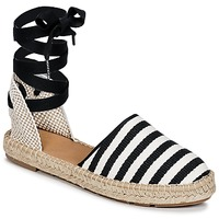 Zapatos Mujer Alpargatas Betty London INANO Negro / Blanco