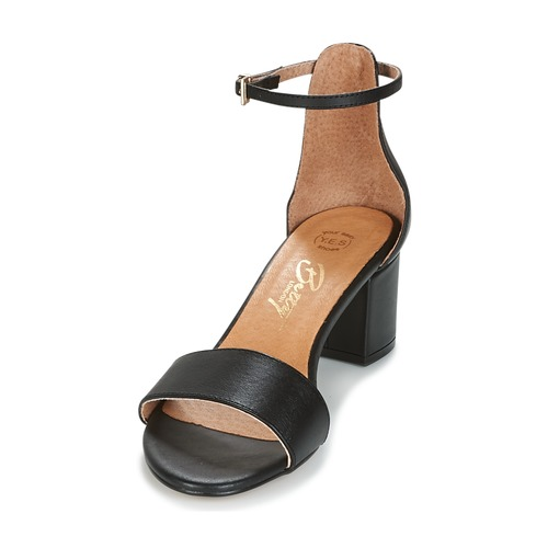 London Negro Innamata Betty Sandalias Zapatos Mujer yvmPN08nwO