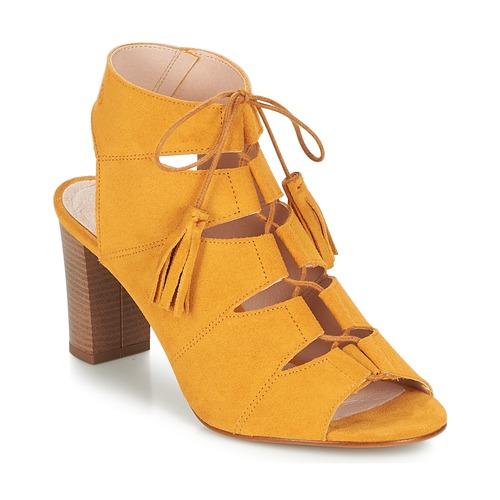 Venta de liquidación de temporada Betty London EVENE Amarillo - Envío gratis Nueva promoción - Zapatos Sandalias Mujer  Amarillo