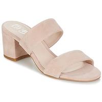 Zapatos Mujer Zuecos (Mules) Betty London INALO Nude
