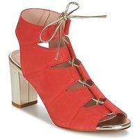 Zapatos Mujer Sandalias Betty London INALU Rojo