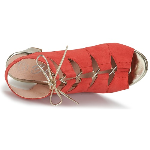 Betty Rojo Zapatos Sandalias Inalu Mujer London kXOZlPuwiT