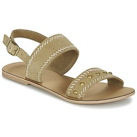 Zapatos Mujer Sandalias Betty London IKARI Beige