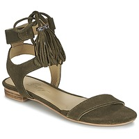Zapatos Mujer Sandalias Betty London IKARA Kaki