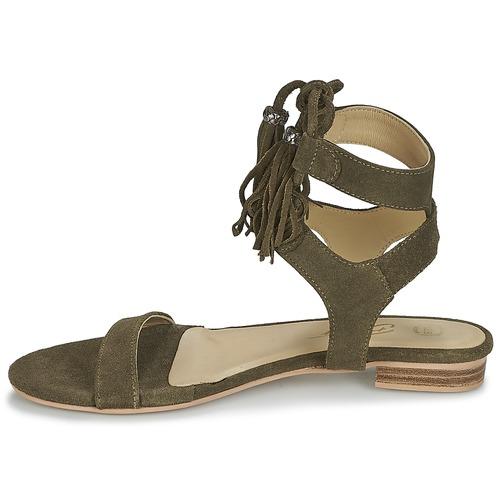 Betty Sandalias London Ikara Mujer Zapatos Kaki dxoeWrBC