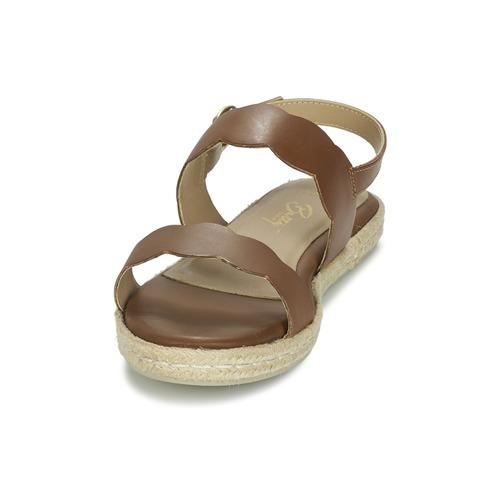 Sandalias Zapatos London Marrón Mujer Ikaro Betty 3RLAj54