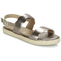 Zapatos Mujer Sandalias Betty London IKARO Plata