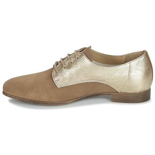 Ikati Marrón Mujer Derbie London Betty Zapatos dBEoWQCxer