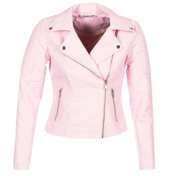 textil Mujer Chaquetas de cuero / Polipiel Noisy May NMREBEL Rosa