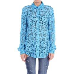 textil Mujer camisas Moschino Couture 02090539 Camisa Mujer Celestial Celestial
