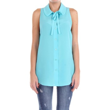 textil Mujer Tops / Blusas Moschino Couture 02100437 Camisa Mujer Agua verde Agua verde