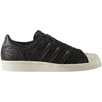 Zapatos Zapatillas bajas adidas Originals SUPERSTAR 80s W Negro