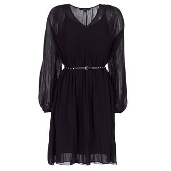 textil Mujer vestidos cortos Pepe jeans WINONA Negro