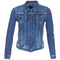 textil Mujer chaquetas denim Pepe jeans THRIFT Azul / Medium