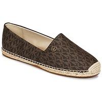 Zapatos Mujer Alpargatas MICHAEL Michael Kors KENDRICK SLIP ON Marrón