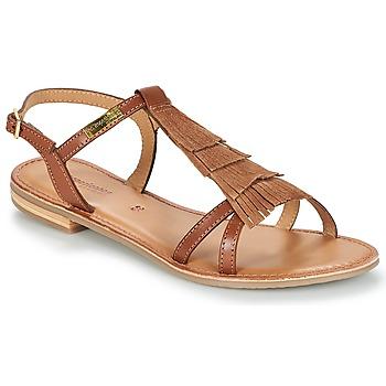 Zapatos Mujer Sandalias Les Tropéziennes par M Belarbi BELIE Tan
