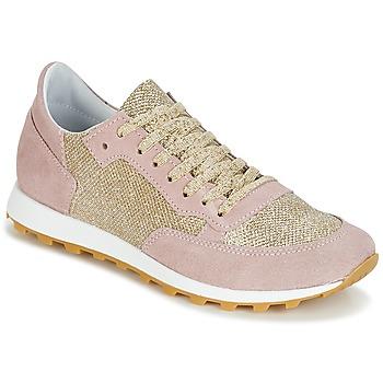 Zapatos Mujer Zapatillas bajas Yurban CROUTA Rosa / Dorado