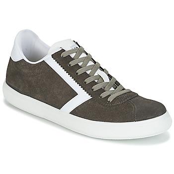 Zapatos Hombre Zapatillas bajas Yurban RETIPUS Gris / Kaki