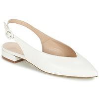 Zapatos Mujer Bailarinas-manoletinas Fericelli IKIRUA Blanco