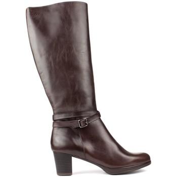 Zapatos Mujer Botas Kroc S  ALTAS DE MARRON