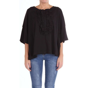 textil Mujer Tops / Blusas Moschino Boutique 12091140 Suéter Mujer negro negro