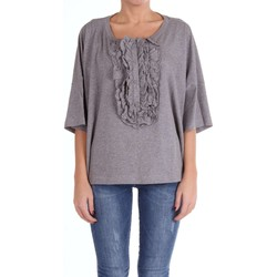textil Mujer camisetas manga corta Moschino Boutique 12091140 Suéter Mujer gris gris