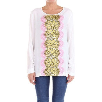 textil Mujer jerséis Moschino Boutique 02121137 Suéter Mujer Blanco Blanco