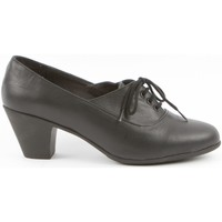 Zapatos Mujer Derbie Califers Blucher Tacón Mujer Negro Louise Colletion Negro