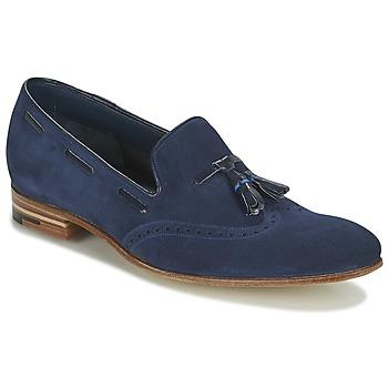 Zapatos Hombre Mocasín Barker RAY Marino