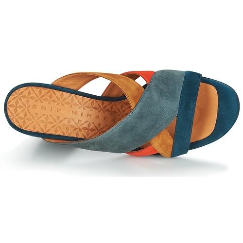 Mujer ZuecosmulesChie Mihara Zapatos Unil Azul 34ARj5L
