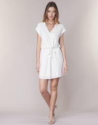 textil Mujer vestidos cortos Le Temps des Cerises FORKATON Blanco