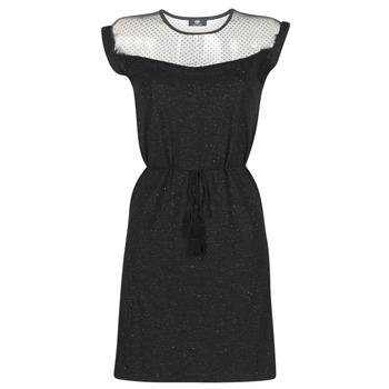 textil Mujer vestidos cortos Le Temps des Cerises JURIETO Negro