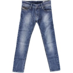 textil Niños vaqueros rectos Diesel 00J2EG KXAWI SLEENKER J VAQUEROS niño DENIM MEDIUM BLUE DENIM MEDIUM BLUE