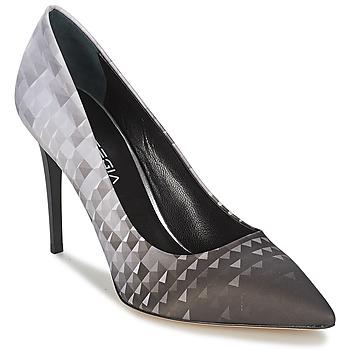 Zapatos Mujer Zapatos de tacón Strategia BALSORANO Negro / Gris