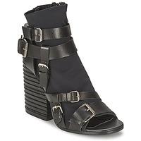 Zapatos Mujer Botines Strategia BUGNARA Negro