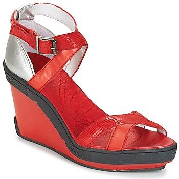 Zapatos Mujer Sandalias Pataugas GOUY Rojo