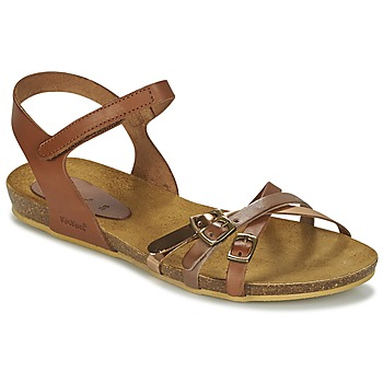 Zapatos Niña Sandalias Kickers BONAVISTA Camel