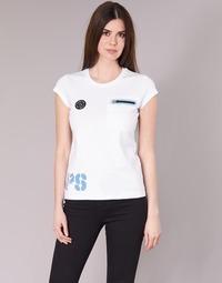 textil Mujer camisetas manga corta Philipp Plein Sport SITTIN OVER HERE Blanco