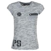 textil Mujer camisetas manga corta Philipp Plein Sport SITTIN OVER HERE Gris