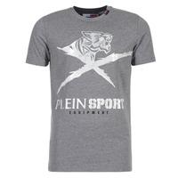 textil Hombre camisetas manga corta Philipp Plein Sport BORIS Gris / Plata