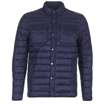 textil Hombre plumas Schott NIELS Marino