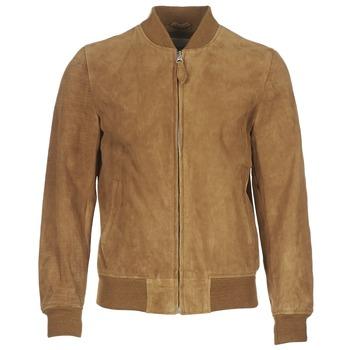 textil Hombre Chaquetas de cuero / Polipiel Schott LC301 Cognac