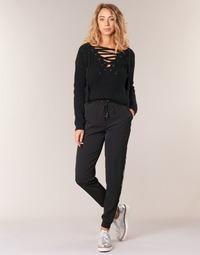 textil Mujer Pantalones fluidos Kaporal SOFI Negro