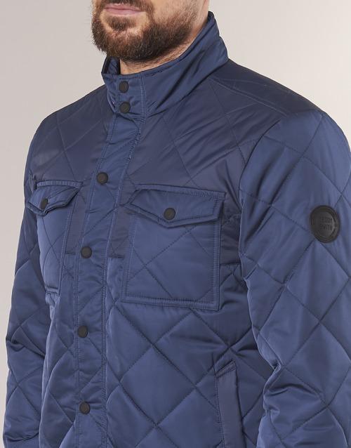 Hombre Cazadoras Teddy Smith Bolvo Marino Textil tsrQhxodCB
